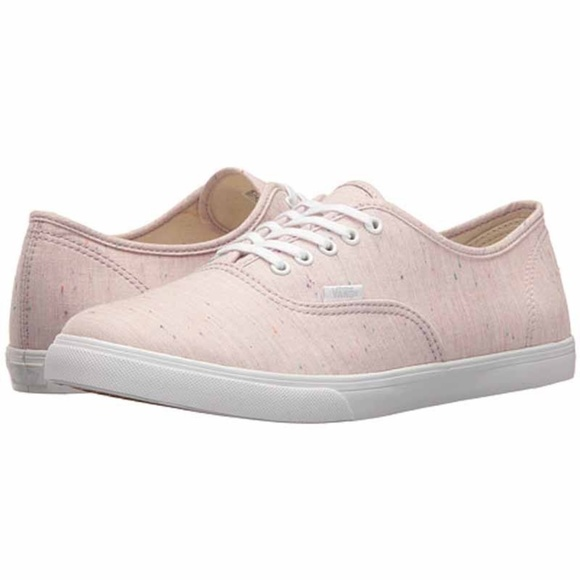 67b3c4dc47 NWT Vans Authentic Low Pro Light Pink Canvas Shoes